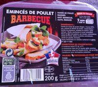 Émincés de poulet barbecue - Produit - fr