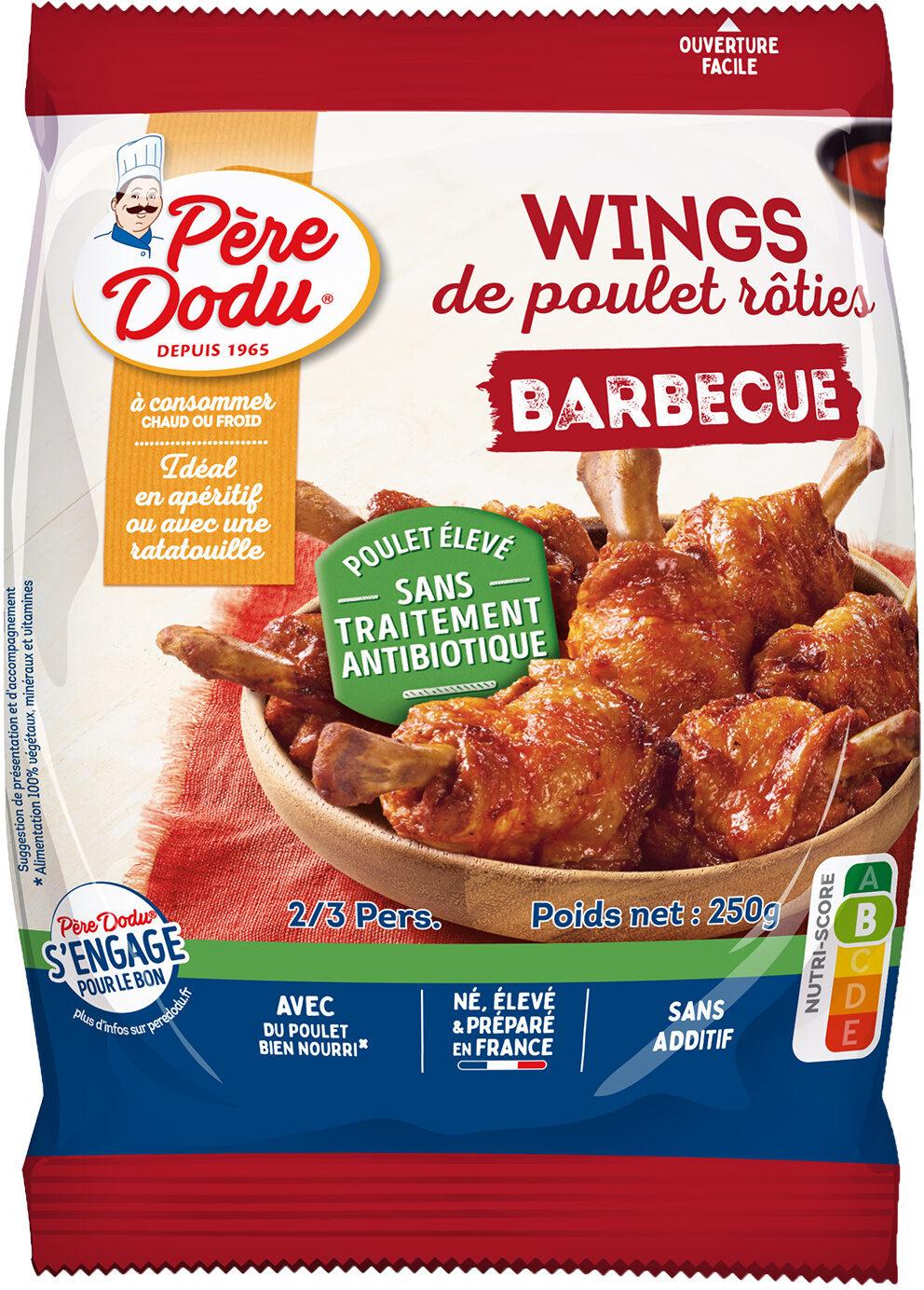 Wings de poulet roties barbecue eleves sans traitement antibiotique - Prodotto - fr