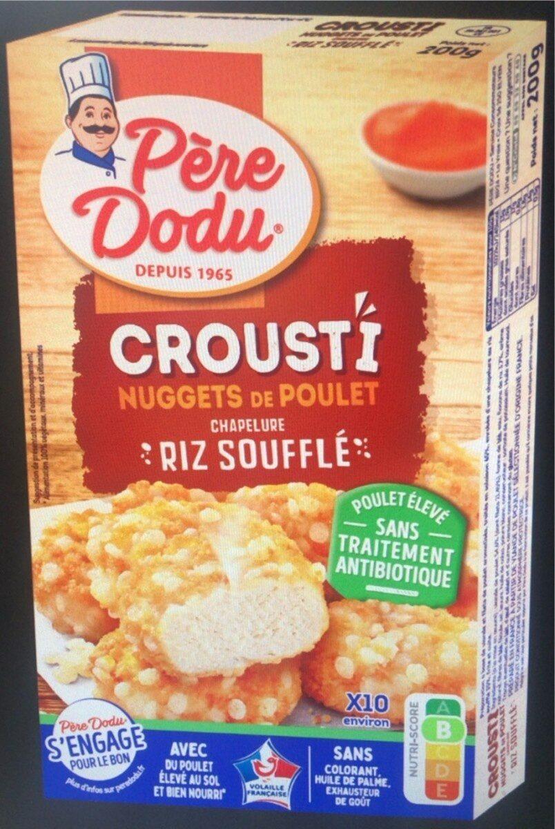 Crousti Nuggets de poulet Chapelure Riz Soufflé - Produit - fr