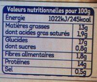 Crousti Nuggets de poulet Chapelure Riz Soufflé - Informations nutritionnelles - fr