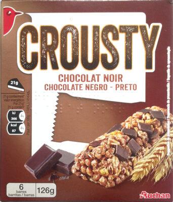 Crousty - Chocolat noir - Produit