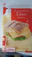 Tranchettes Edam tendres - Product - fr