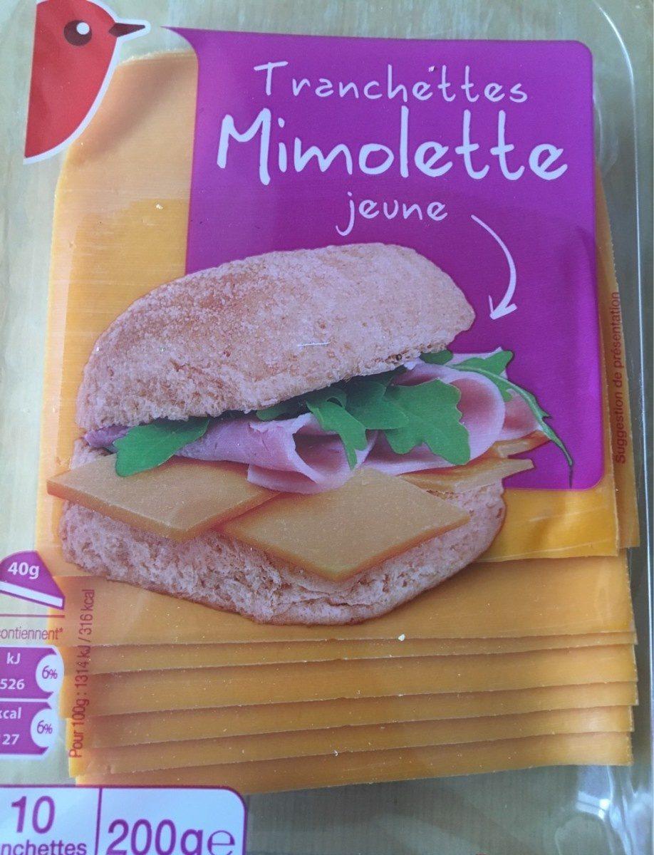 Tranchettes de Mimolette - Fromage au lait pasteurisé de vache - Product