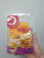 Tranchettes de Mimolette - Fromage au lait pasteurisé de vache - Product - fr