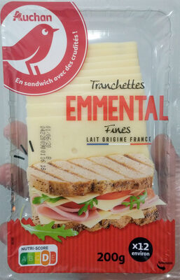 Tranches Emmental - Product - fr
