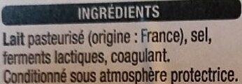 Tranches Emmental - Ingrédients - fr