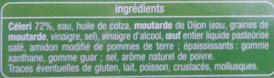 Céleri rémoulade - Ingrediënten