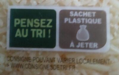Emmental râpé - Instruction de recyclage et/ou informations d'emballage - fr