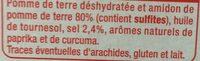 Pétales salés - Ingrédients - fr