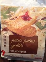 Petit pain grillé au blé complet - Product