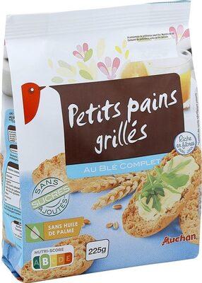 Petits pains grillés au blé complet - Produkt - fr