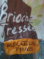 brioche tressée aux œufs frais - Produit - fr
