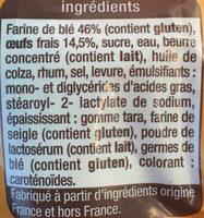 brioche tressée aux œufs frais - Ingrédients - fr
