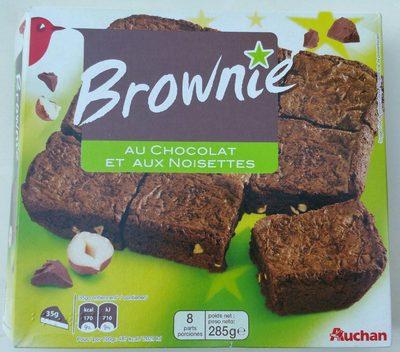 Brownie chocolat noisettes - Produit - fr