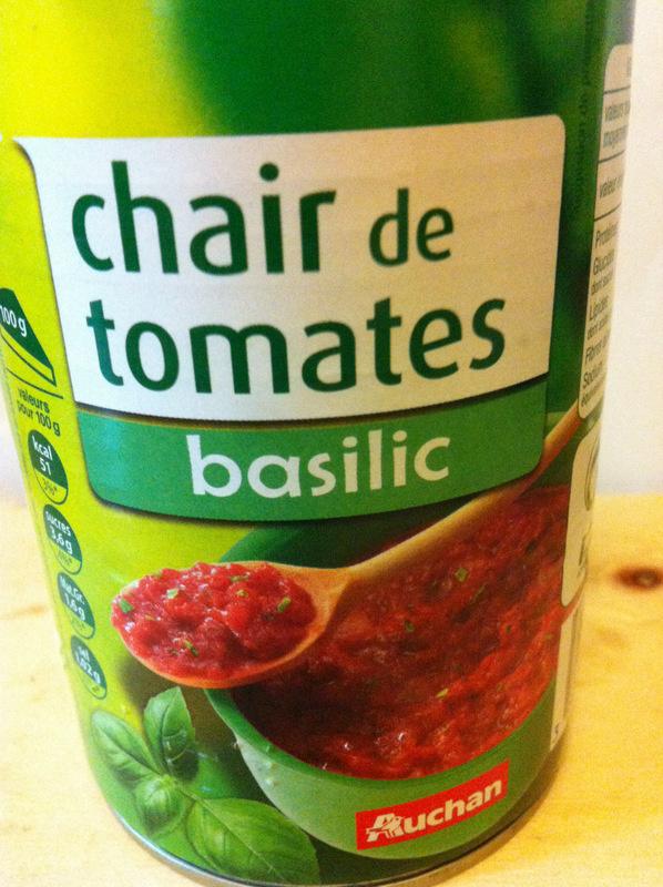 Chair de tomates basilic - Product