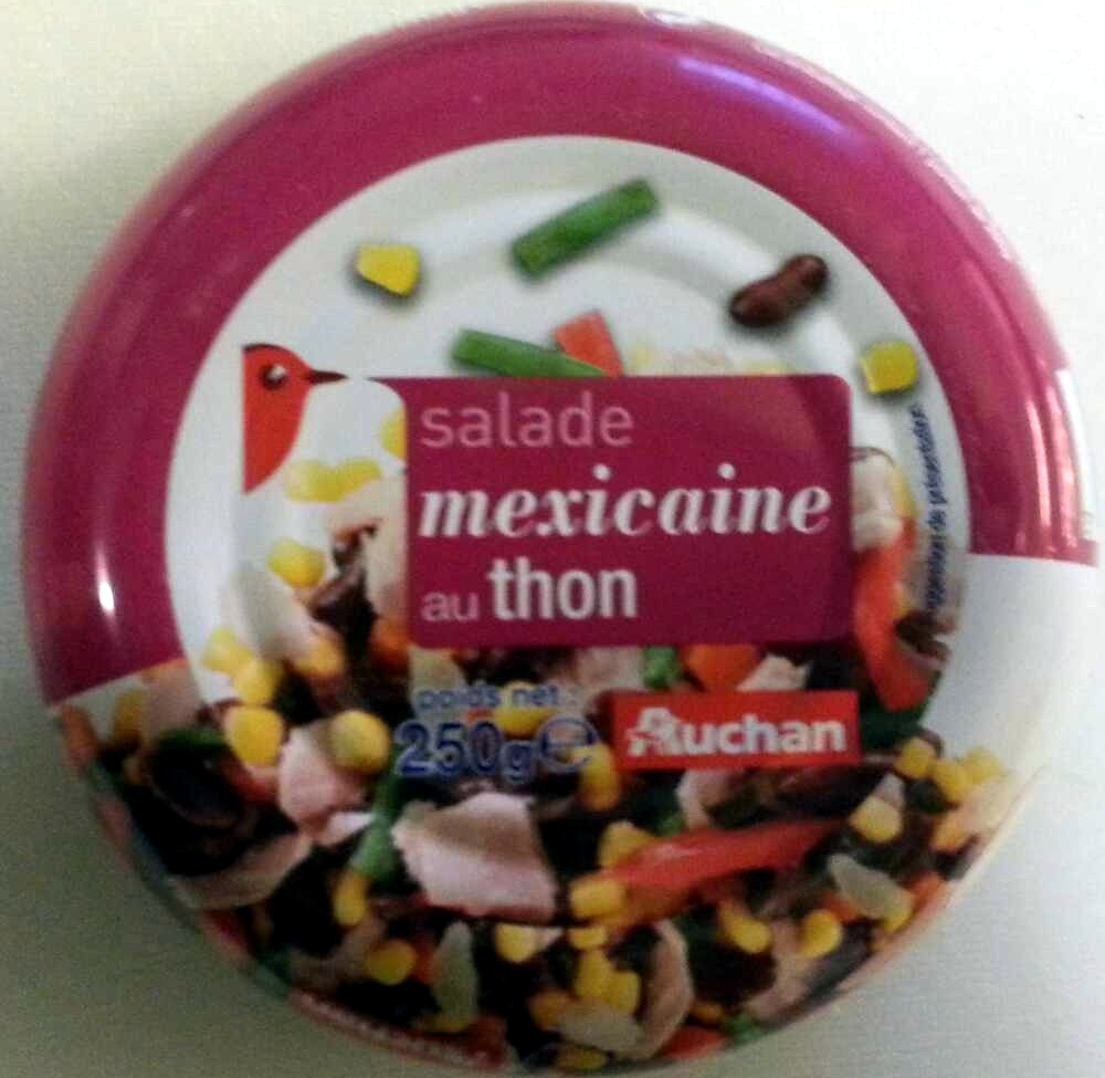 salade mexicaine au thon auchan 250 g. Black Bedroom Furniture Sets. Home Design Ideas