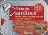 Filets de sardines tomate et petits légumes sans huile - Produit