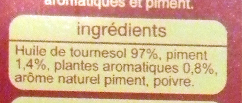 Spéciale pizza - Ingrediënten