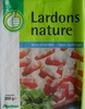Lardons nature (sans couenne, sans cartilage) - Product