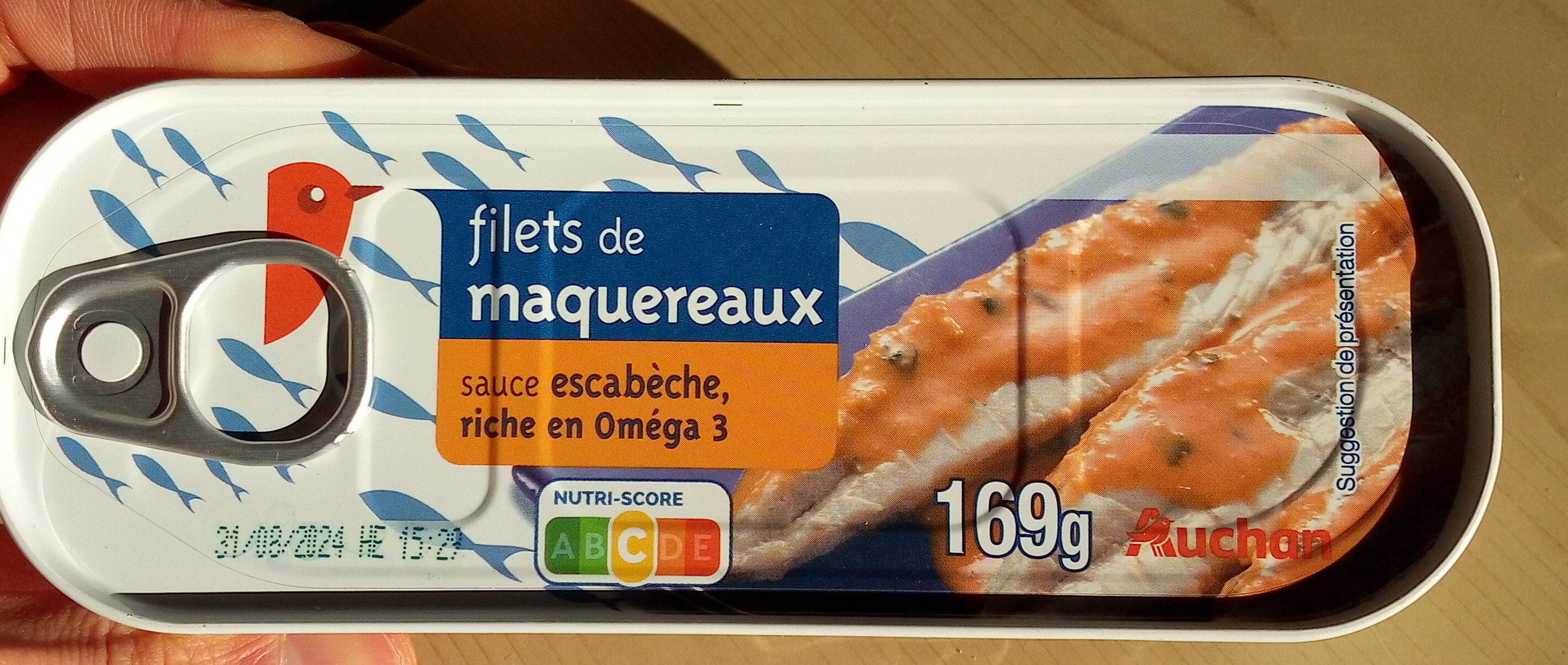 Filets de maquereaux sauce escabèche - Prodotto - fr