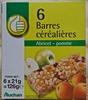 Barres céréalières Abricot - Pomme - Product