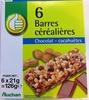 6 Barres Céréalières Chocolat-Cacahuètes - Product