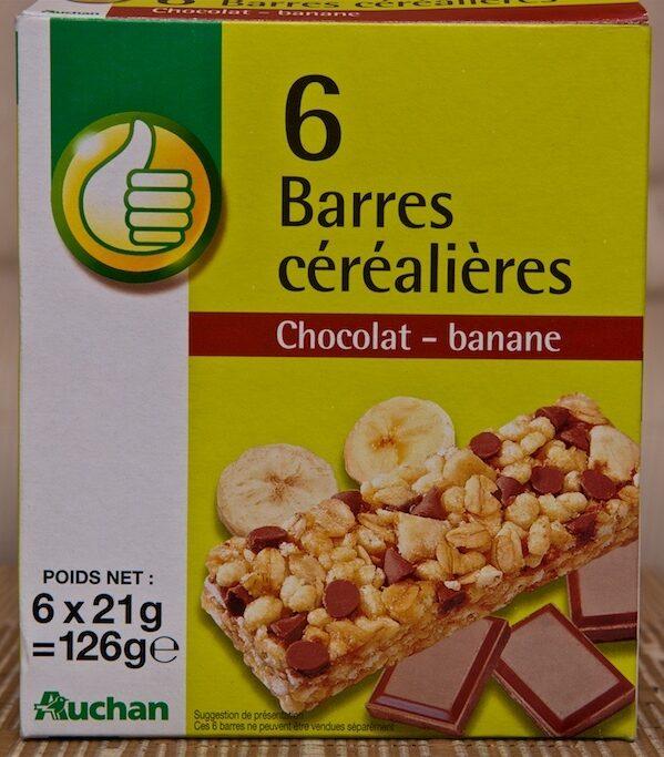 Barres céréalières Chocolat-Banane - Product
