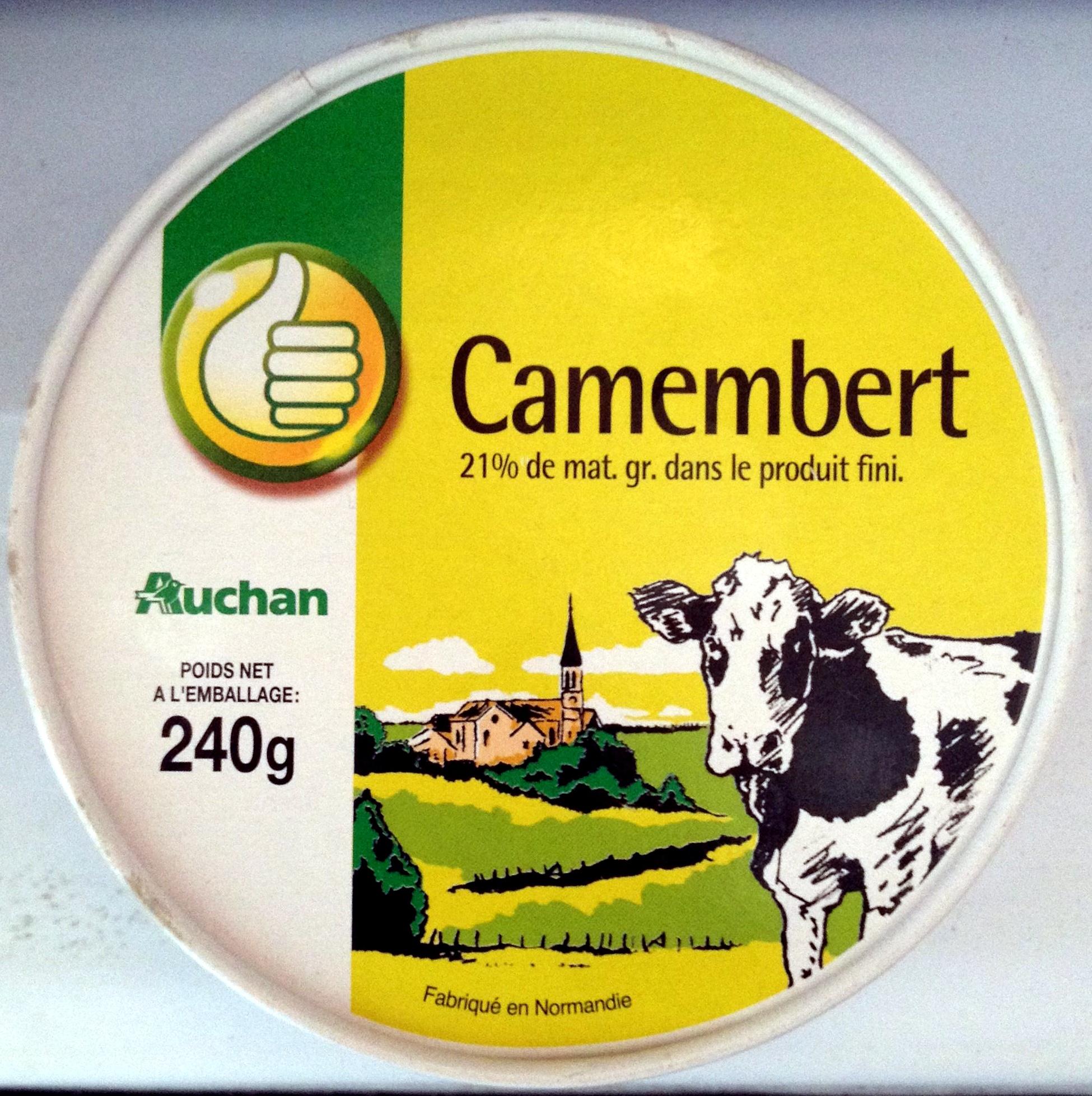 Camembert (21 % MG) - Produit - fr
