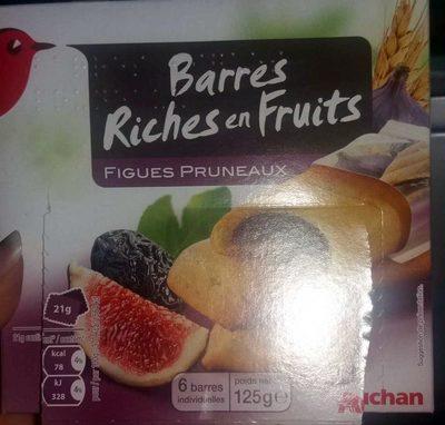 Barre Riches en Fruits Figues Pruneaux - Product