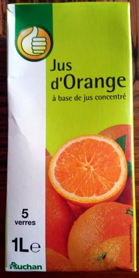 Jus d'Orange à base de jus concentré - Product