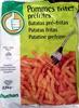 Pommes frites préfrites - Produit