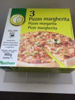 Pizzas margherita - Produit - fr