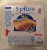 5 pitas - Produit