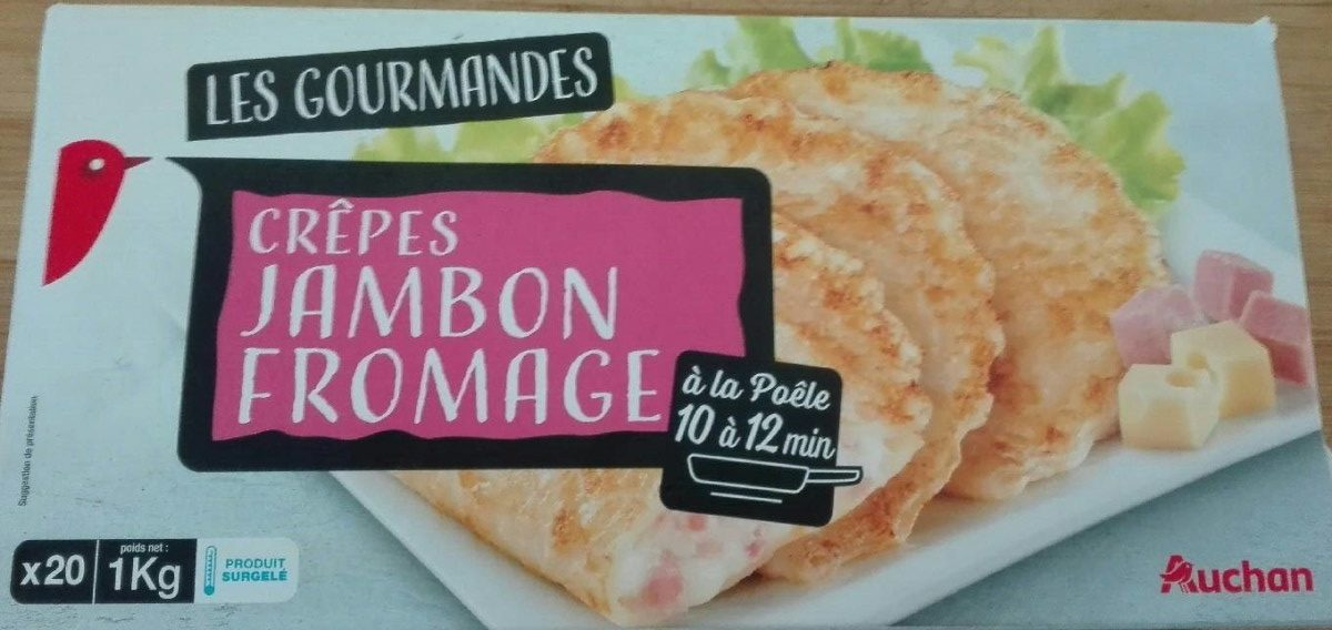 Crêpes Jambon Fromage - Produit - fr