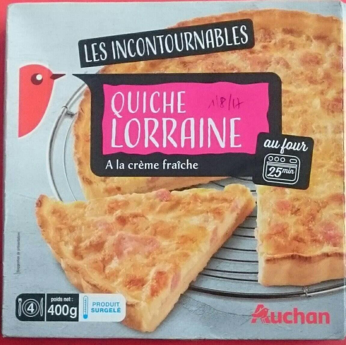 Quiche Lorraine à la Crème Fraîche - نتاج - fr