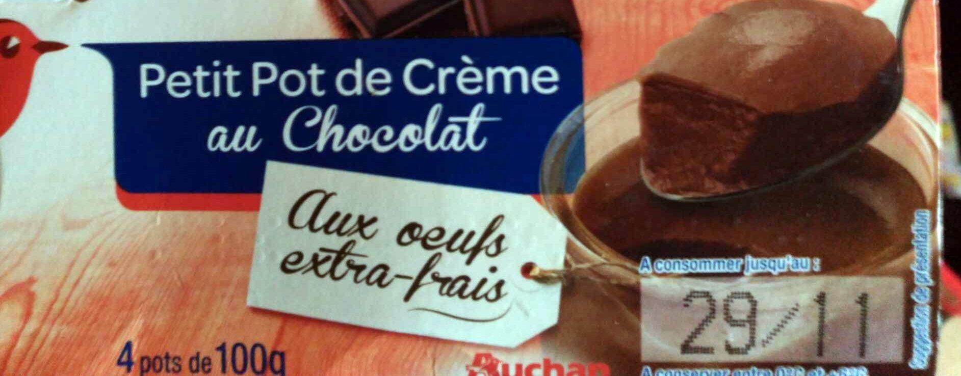 Petit Pot de Crème au Chocolat - Produit - fr