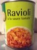 Ravioli á la sauce tomate - Product