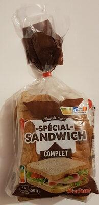 Pain de mie complet spécial sandwich - Product - fr