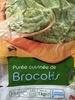 Purée cuisinée de brocolis - Product