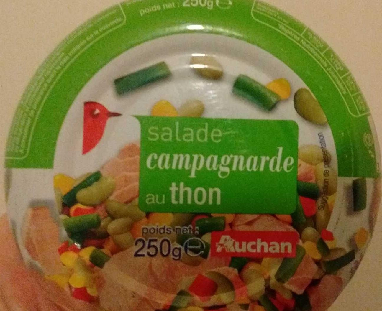 Salade campagnarde au thon - Produit
