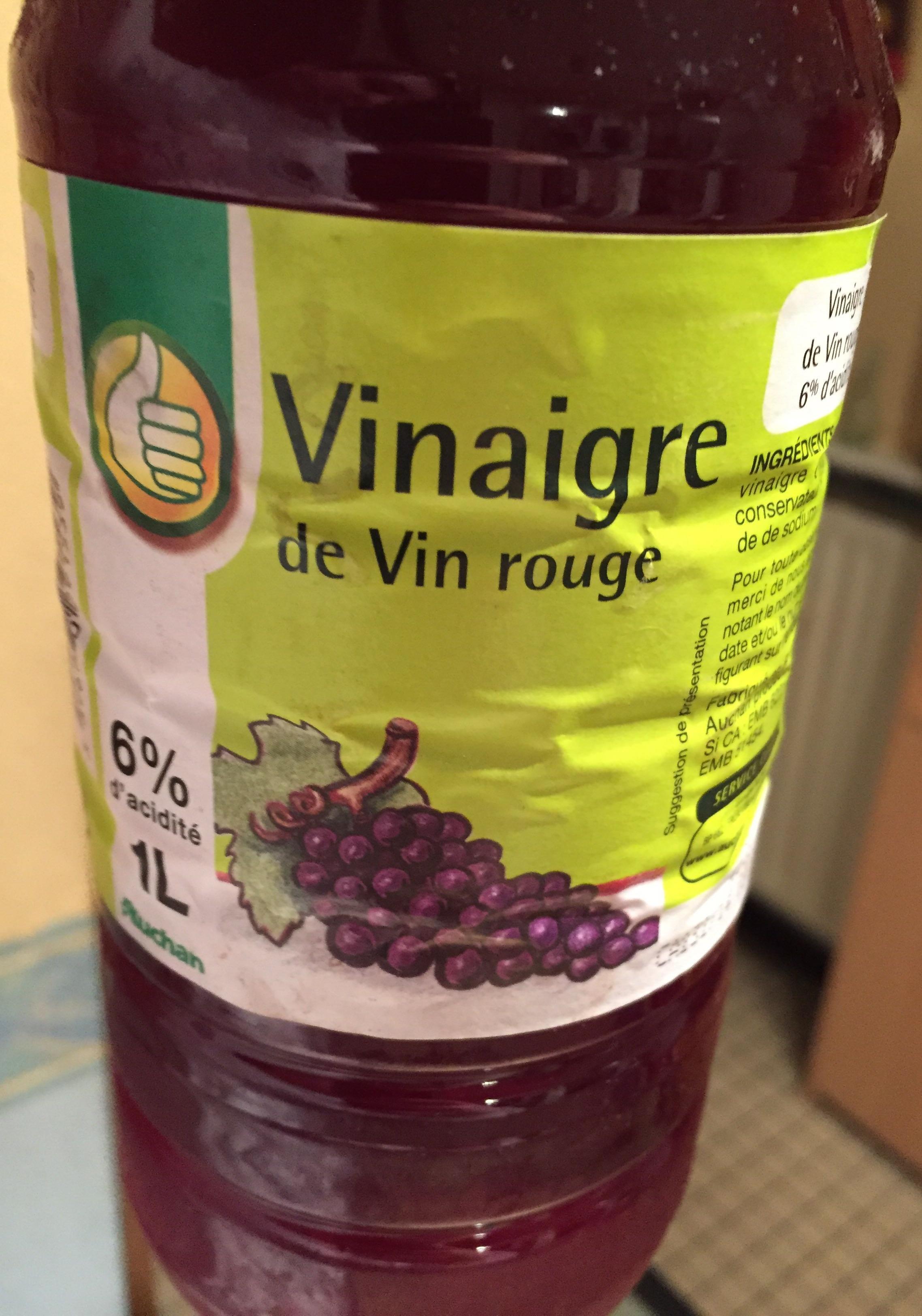 Vinaigre de vin rouge pouce 1 l - Quantite de vin par personne ...