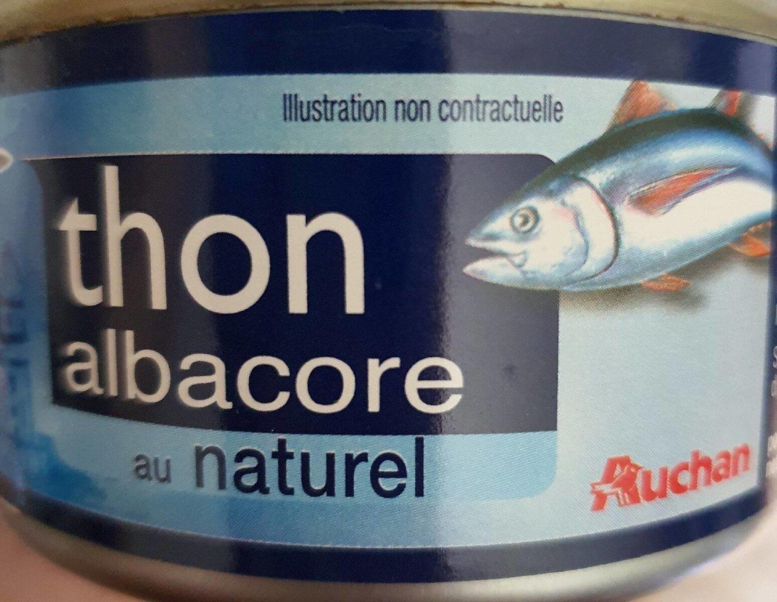Thon albacore au naturel - Producto - en