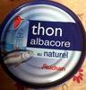 Thon albacore au naturel - Auchan - Product