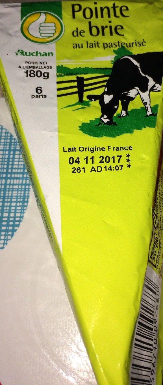 Pointe de Brie - 产品 - fr
