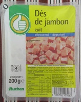 Dés de jambon cuit (découenné - dégraissé) - Produit - fr