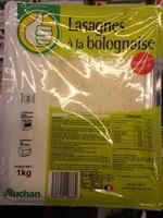 Lasagnes à la bolognaise - Product - fr