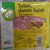 Salami danois fumé 15 tranches - Product