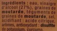 Moutarde à l'ancienne - Ingrédients - fr
