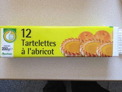 12 tartelettes à l'abricot - Product - fr