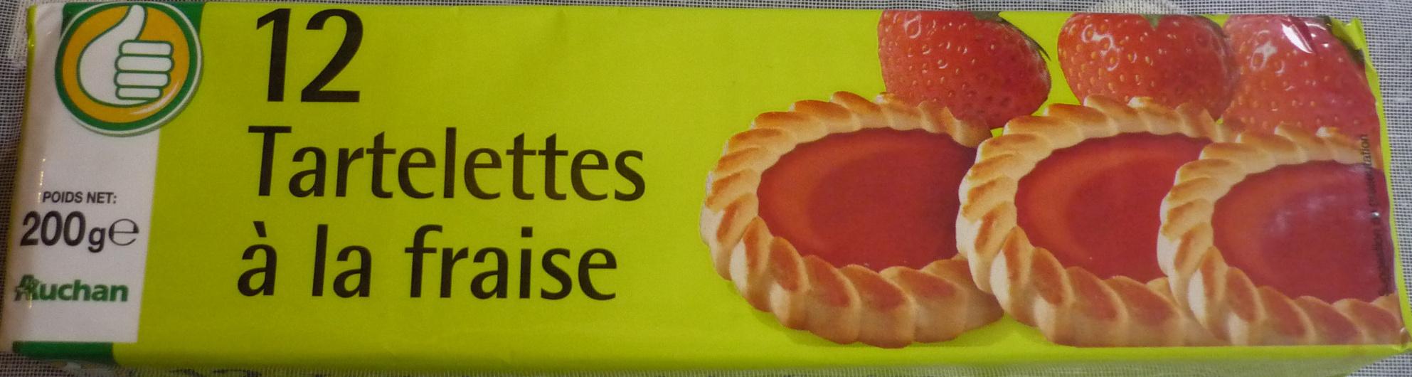 12 Tartelettes à la fraise - Produit